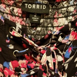 torrid Dresses - Torrid Size 2 Floral Dress GUC